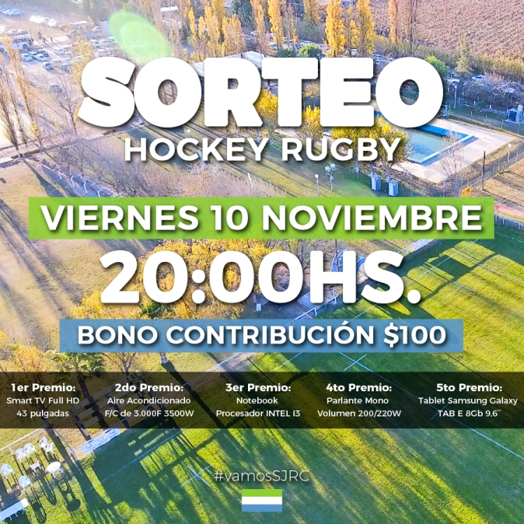 Flyer Sorteo 10 Nov