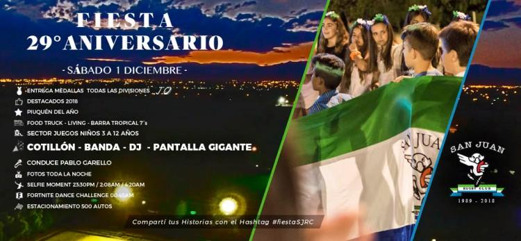 Portada Fiesta 1 Dic Flyer Cotillon